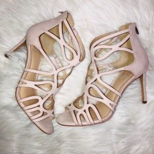 Vince Camuto Taupe Sandals 9.5